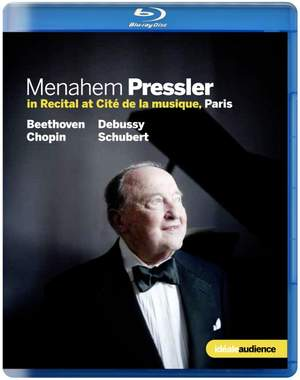 Menahem Pressler in Recital