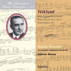 The Romantic Piano Concerto 57 - Wiklund