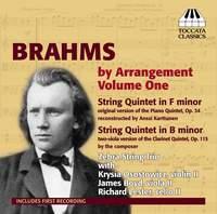 Brahms by Arrangement Volume 1