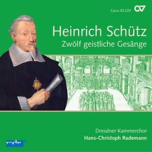 Schütz: Geistliche Gesänge (12), SWV 420-431 (Op. 13) Product Image
