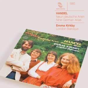 Handel: Neun deutsche Arien, HWV202-210