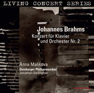 Brahms: Piano Concerto No. 2 in B flat major, Op. 83 Product Image