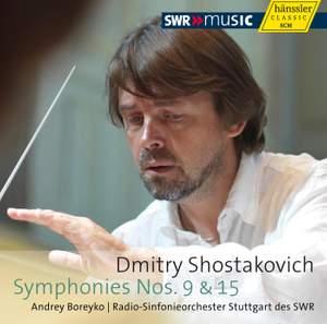 Shostakovich: Symphonies Nos. 9 and 15