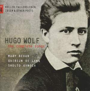 Hugo Wolf: The Complete Songs Volume 4