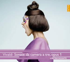 Vivaldi: Trio Sonatas (12) for Two Violins & Continuo, Op. 1