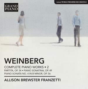 Weinberg: Complete Piano Works Volume 2