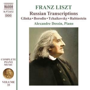 Liszt: Complete Piano Music Volume 35