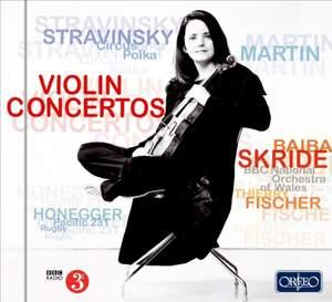 Stravinsky & Martin: Violin Concertos
