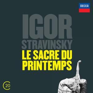 Stravinsky: Le sacre du printemps, Symphony in Three Movements & Agon