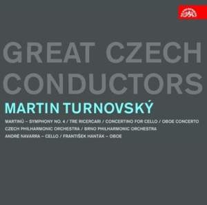 Great Czech Conductors: Martin Turnovský