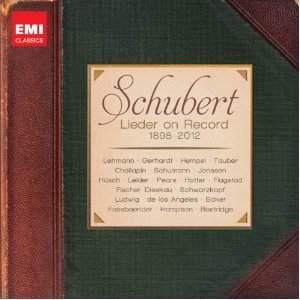 Schubert Lieder on Record (1898-2012)