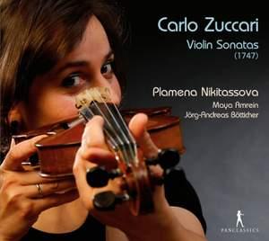 Carlo Zuccari: Violin Sonatas