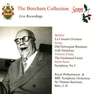 Sir Thomas Beecham conducts Berlioz, Grieg, D'Indy & Saint-Saëns