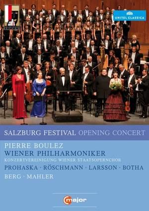 Salzburg Festival Opening Concert 2011 Product Image