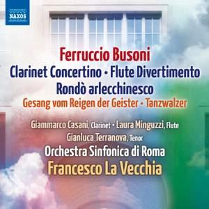 Busoni: Clarinet Concertino & Flute Divertimento