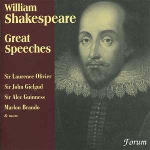 William Shakespeare: Great Speeches