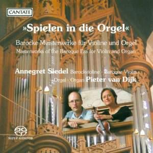 Spielen in die Orgel