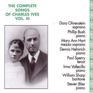 IVES, C.: Songs (Complete), Vol. 3