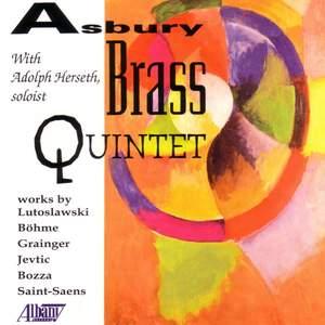 BOZZA: Sonatine / BOHME: Brass Sextet in E flat minor / JEVTIC: Quintette Victoria / SAINT-SAENS: Serenade d'hiver