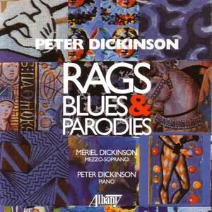 Peter Dickinson: Rags, Blues & Parodies Product Image