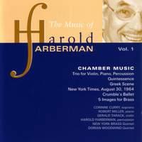 FARBERMAN: Chamber Music, Vol. 1