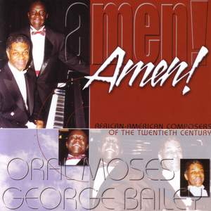 Vocal Recital: Moses, Oral - OWENS, R.L. / BURLEIGH, H.T. / STILL, W.G. / LOES, H.D. (African-American Composers of the 20th Century) Product Image