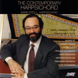 STARER: The 7 Faces of Fernando / CHILD, P.: Fantasia / ANTONIOU: Suite for Violin and Harpsichord / HOVHANESS: Duet for Violin and Harpsichord
