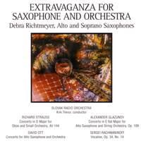 STRAUSS, R.: Oboe Concerto in D major / OTT: Alto Saxophone Concerto / GLAZUNOV: Alto Saxophone Concerto in E flat major / RACHMANINOV: Vocalise