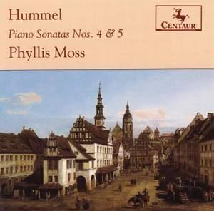 Hummel: Piano Sonatas Nos. 4 and 5 Product Image