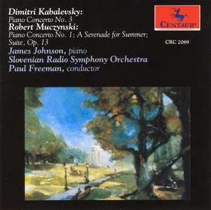 Kabalevsky & Muczynski: Piano Concertos