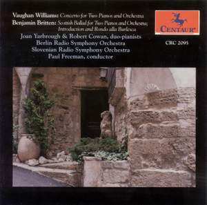 Vaughan Williams: Concerto for Two Pianos
