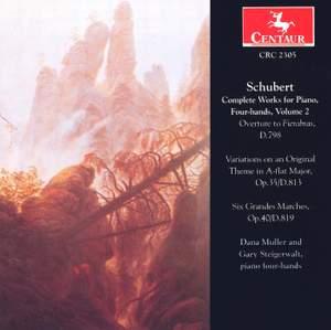 Schubert: Piano Music, 4-Hands (Complete), Vol. 2