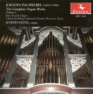 Pachelbel: Complete Organ Music, Vol. 2
