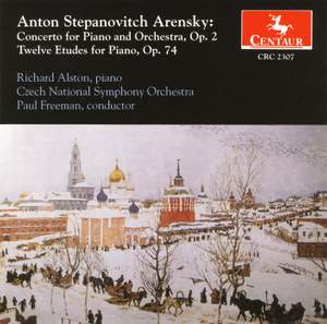 Arensky: Piano Concerto & Etudes