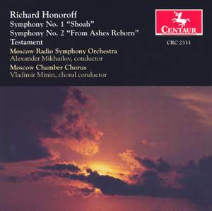 Richard Honoroff: Symphonies Nos. 1 and 2