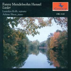 Fanny Mendelssohn: Lieder