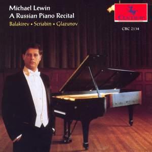 A Russian Piano Recital