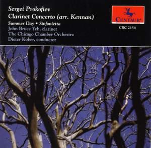 Prokofiev: Clarinet Concerto (arr. Kennan, from Flute Sonata)