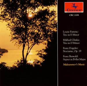 Chamber Works by Farrenc, Glinka and Berwald