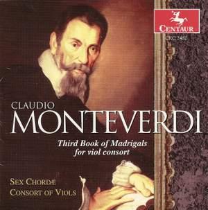 Monteverdi: Il   terzo libro de madrigali, 1592