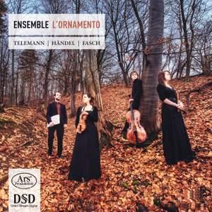 L'Ornamento play Handel, Telemann and Fasch
