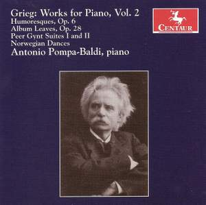 Grieg: Works for Piano, Vol. 2