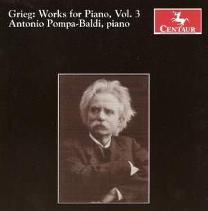 Grieg: Works for Piano, Vol. 3