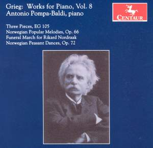 Grieg: Works for Piano, Vol. 8