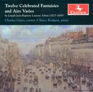 Joseph Arban: Twelve Celebrated Fantasies and Airs Varies