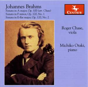 Brahms: Sonatas for Viola and Piano Product Image
