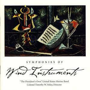 President's Own United States Marine Band: Symphonies of Wind Instruments Product Image