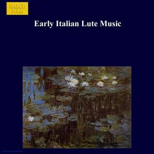 Early Italian Lute Music