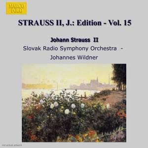 Johann Strauss II Edition, Volume 15 Product Image