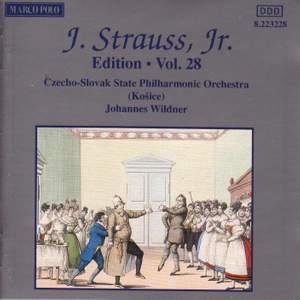 Johann Strauss II Edition, Volume 28